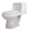 Anzzi Zeus 1-piece 1.28 GPF Single Flush Elongated Toilet in White