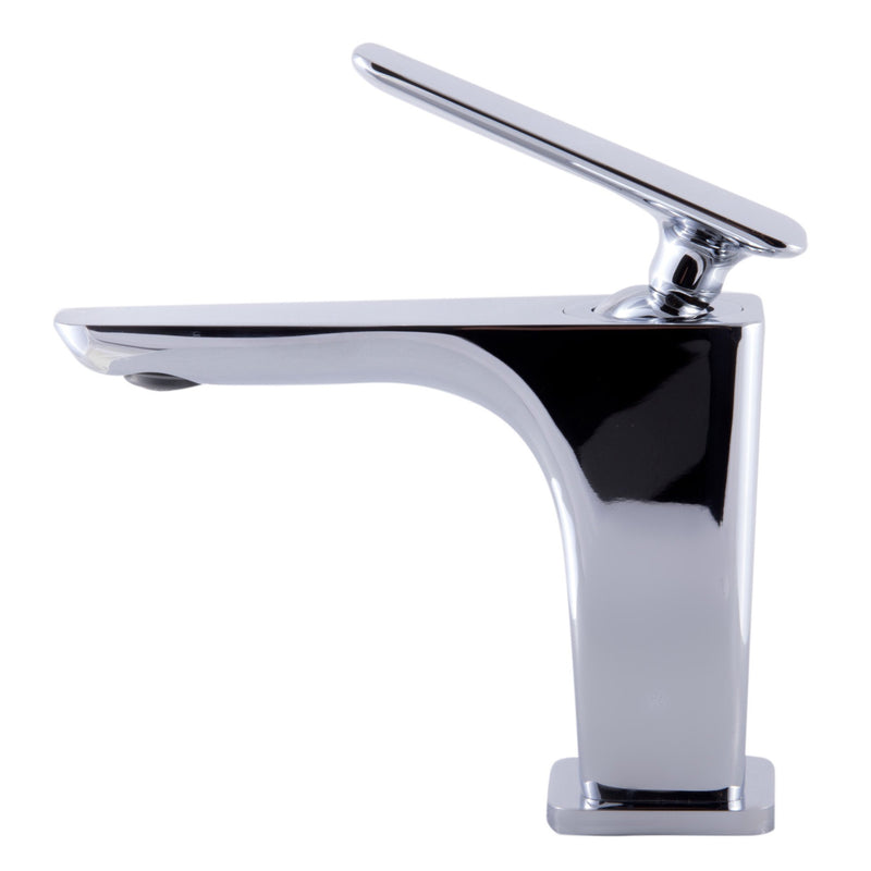ALFI Brushed Nickel Single Hole Modern Bathroom Faucet AB1779-BN