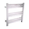 Anzzi Starling 6-Bar Stainless Steel Wall Mounted Electric Towel Warmer Rack in Brushed Nickel