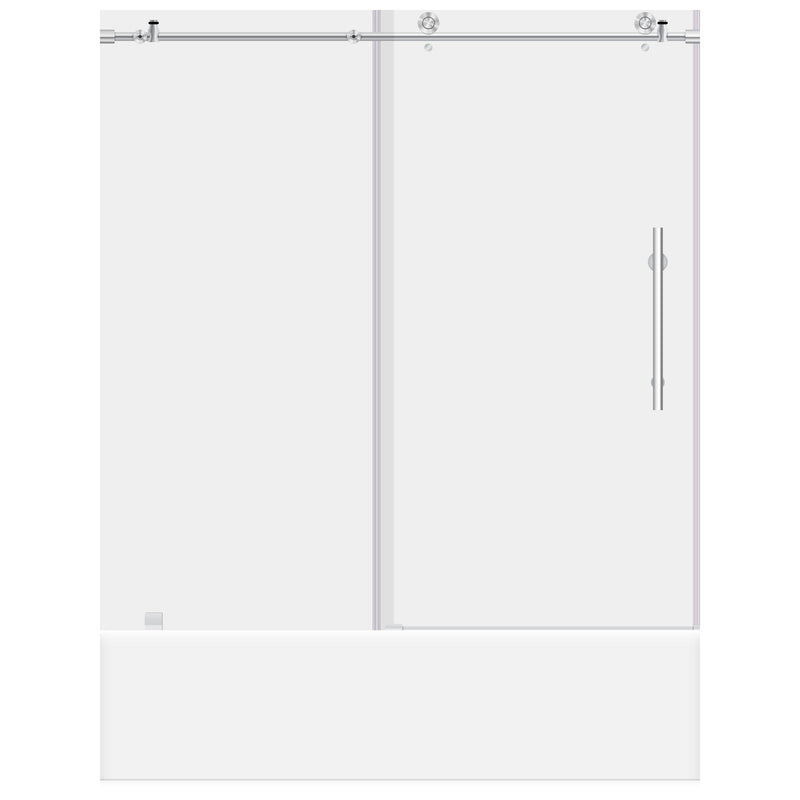 56-60 W x 62 H Sliding Bathtub Door ULTRA-C LBTDC6062-C