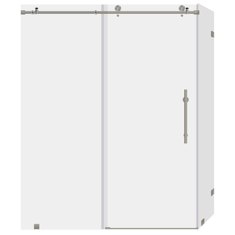 56-60 W x 76 H x 36 D Sliding Shower Enclosure ULTRA-C LBSDC6076-B+LBSEC3676-CB