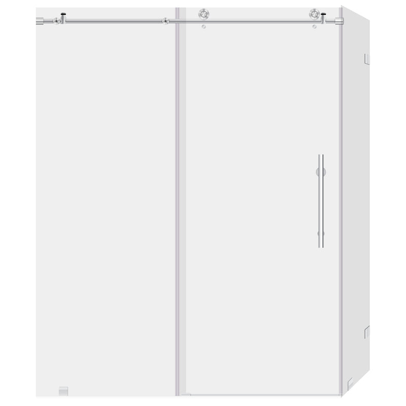 44-48 W x 76 H x 34 1/2 D Sliding Shower Enclosure ULTRA-C LBSDC4876-C+LBSEC34576-CB