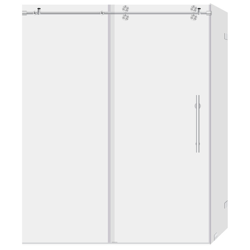44-48 W x 79 H x 34 1/2 D Sliding Shower Enclosure ULTRA-D LBSDD4879-C+LBSED34579-CB