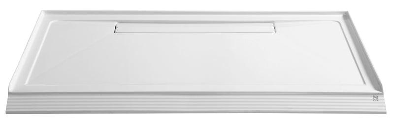 "Anzzi Plateau Series 60"" x 36"" Shower Base in White"