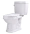 Anzzi Talos 2-piece 1.6 GPF Single Flush Elongated Toilet in White