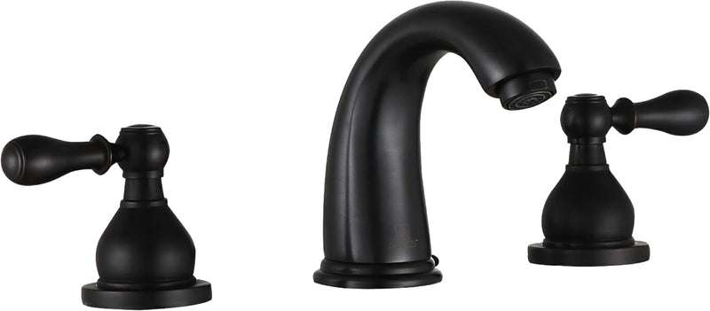 "Anzzi Merchant 8"" Widespread 2-Handle Bathroom Faucet in Oil Rubbed Bronze"