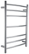 Anzzi Gown 7-Bar Electric Towel Warmer in Polished Chrome