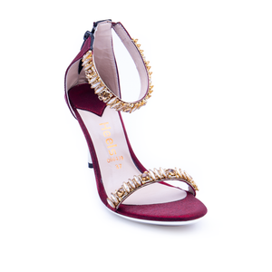 Bridal Ladies Sandal 066439 - Heels Shoes