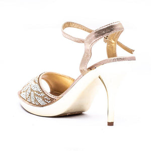 Bridal Ladies Sandal 066275 - Heels Shoes