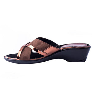 Pu Ladies Slipper 076085