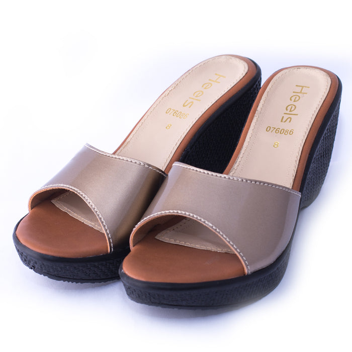 PU Ladies Slipper 076086