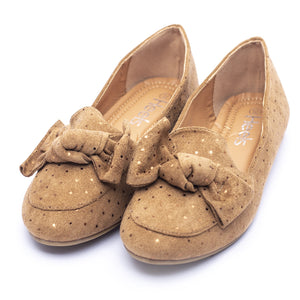 Casual Ladies Pumps camel Color SKU 090481