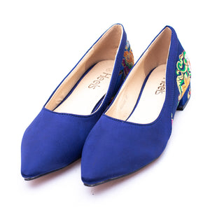 Casual Ladies Pumps NAVY   color SKU 090490