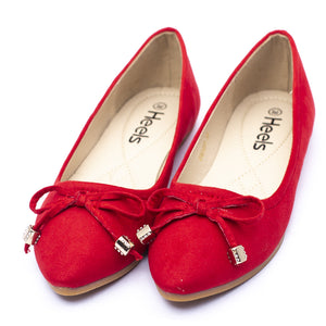 Casual Ladies Pumps redColor SKU 090493