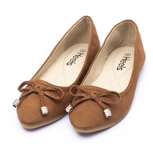 Casual Ladies Pumps khakiColor SKU 090493