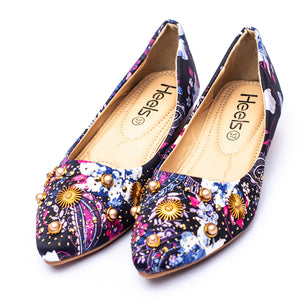 formal ladies pumps purple color SKU 090524