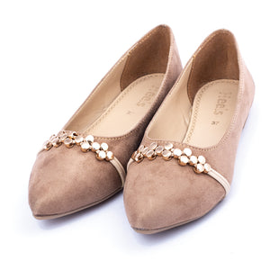 formal ladies pumps fawn color SKU 091021