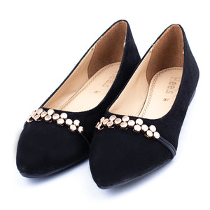 formal ladies pumps black color SKU 091021