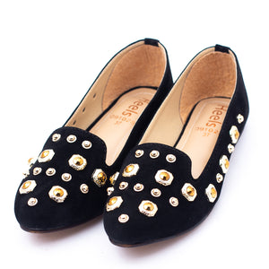 formal ladies pumps black color SKU 091028