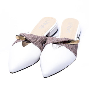 Formal ladies backopen shoes 095042