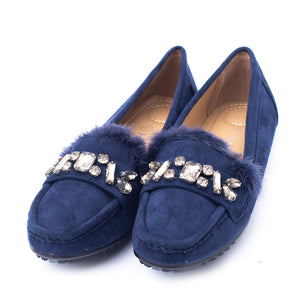 Casual Ladies Moza Navy Color SKU 095047