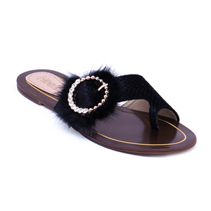 Formal Ladies Chappal 005643 BLK