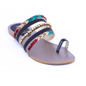 Formal Ladies Chappal 005640 BKM