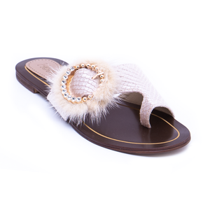 Formal Ladies Chappal 005643 GLD