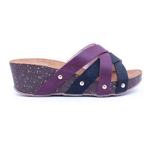 PU Ladies Slipper 076114