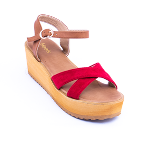 PU Ladies Sandal 079048
