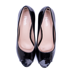 Fancy Ladies Peep Toe 087010 - Heels Shoes