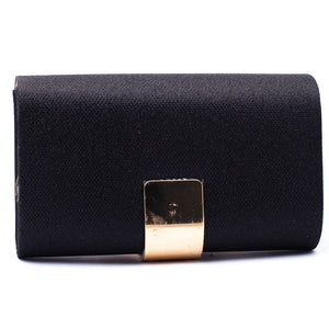 Fancy Clutch Black Color C20217