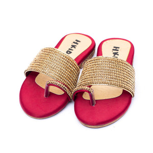 Toddler Chappal Maroon Color SKU  G30141
