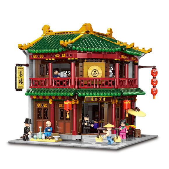 Traditional Chinese Teahouse