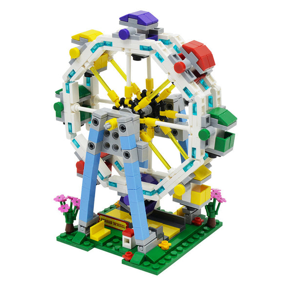Miniature Ferris Wheel Carnival Ride