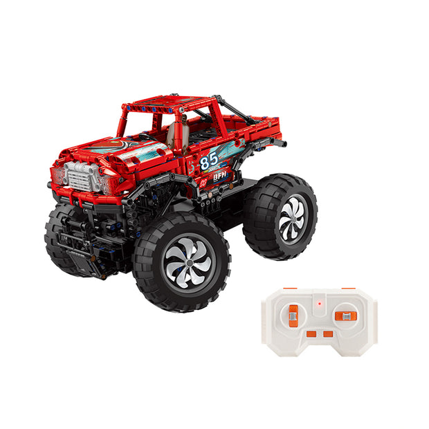 Red Remote Control Monster Truck