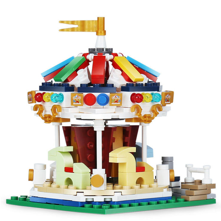 Miniature Merry-Go-Round Carnival Ride