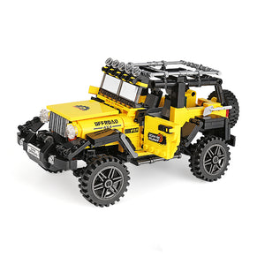 Yellow Off-Road 4x4 Jeep