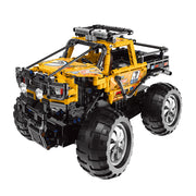 Yellow Remote Control Monster Truck