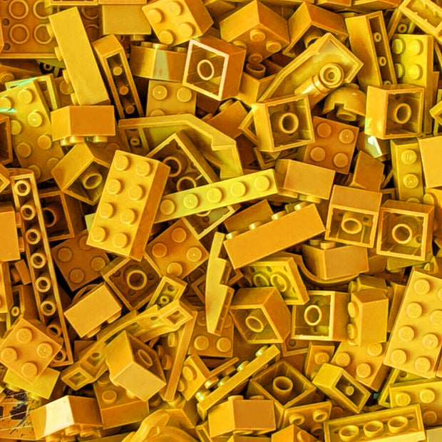 Assorted Yellow LEGOs by the Pound