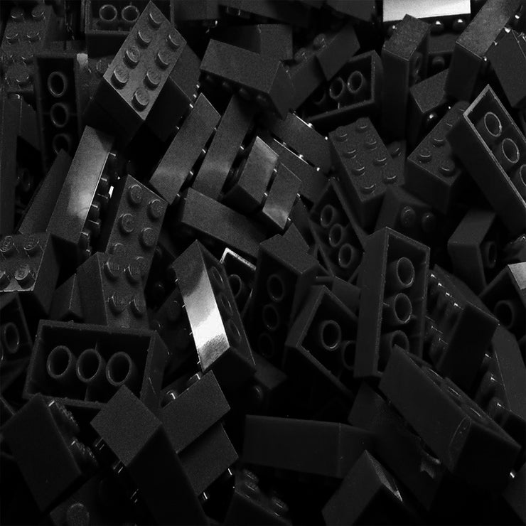Black LEGO Bricks by the Pound