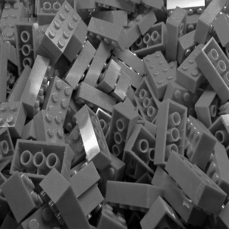 Gray LEGO Bricks by the Pound
