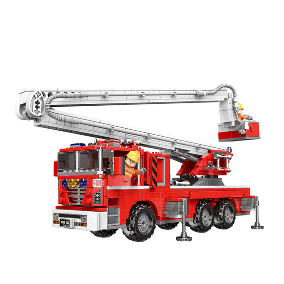 Ladder Co. Fire Truck