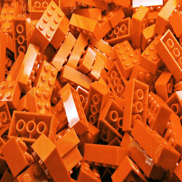 Orange LEGO Bricks by the Pound
