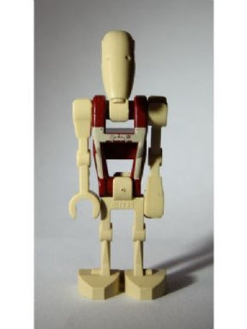 Lego Minifigure [G] Battle Droid Security with Straight Arm - Dot Pattern on Torso sw347 Star Wars Episode 1 Minifig 2011
