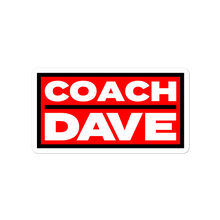 Load image into Gallery viewer, Coach Dave Stickers