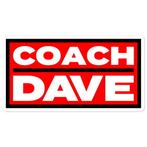Coach Dave Stickers