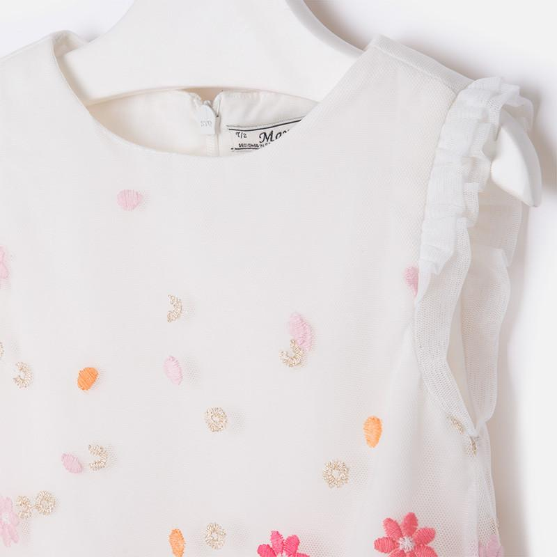Flower Embroidered Dress_allurelane