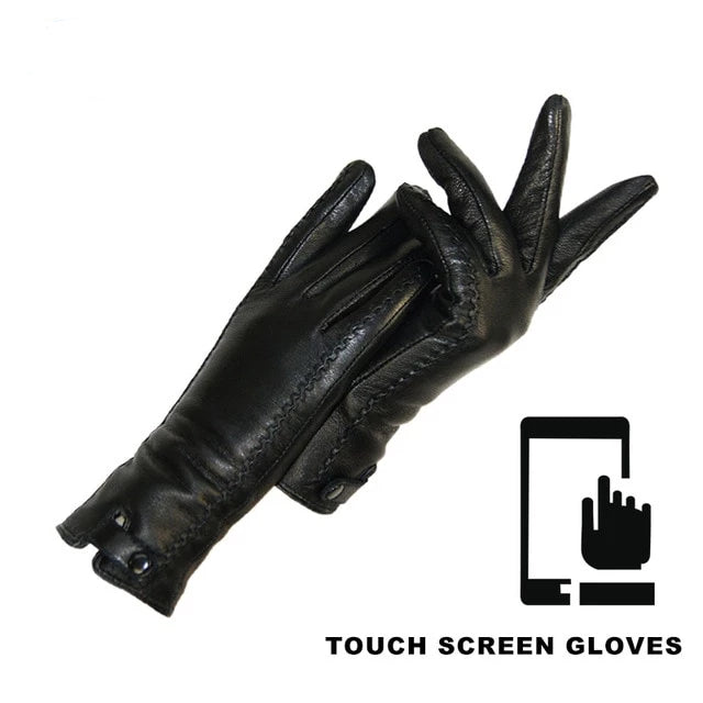 Riveted Clasp High-quality Gloves_allurelane
