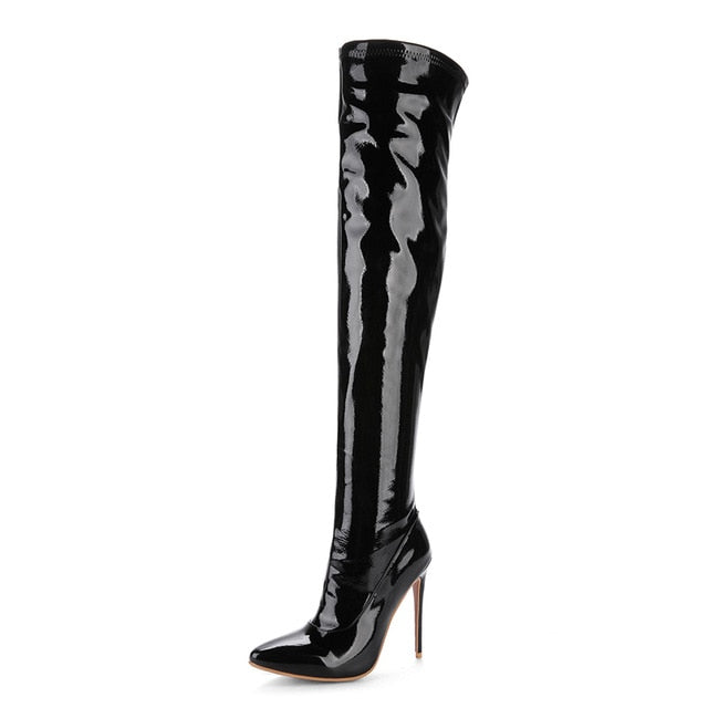 Over The Knee Boots_allurelane